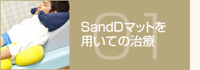 SandDマットを用いての治療